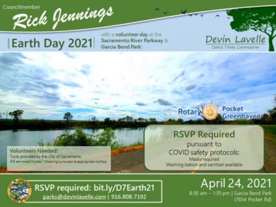Earth Day Along the Sacramento River Parkway
