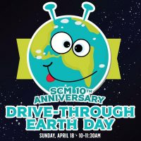 Earth Day Drive-Thru at the Sacramento Children's Museum