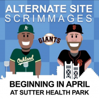 San Francisco Giants Alternate Site vs. Oakland A's Alternate Site Scrimmages
