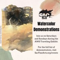 Watercolor Demonstration: Diane Pargament