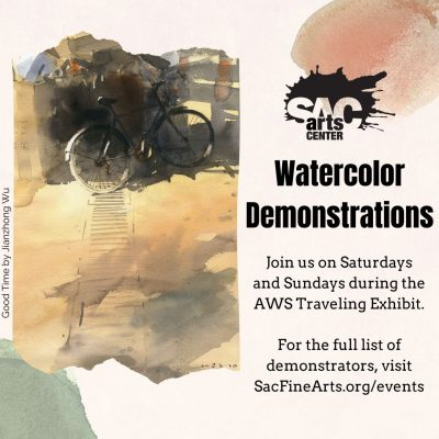 Watercolor Demonstration: Jan Miskulin