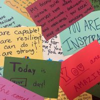 Write Notes for Homeless Women at Women's Empowerment on Big Day of Giving