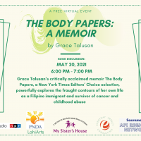 Grace Talusan's The Body Papers Book Discussion with My Sister's House