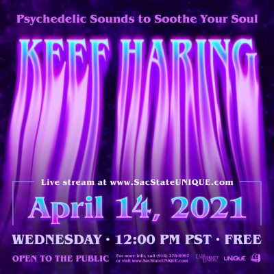 Keef Haring Virtual Psychedelic Concert