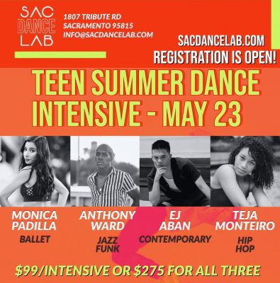 Teen Summer Dance Intensives