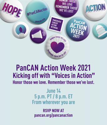 Pancreatic Cancer Action Week 2021 Voices in Actio...