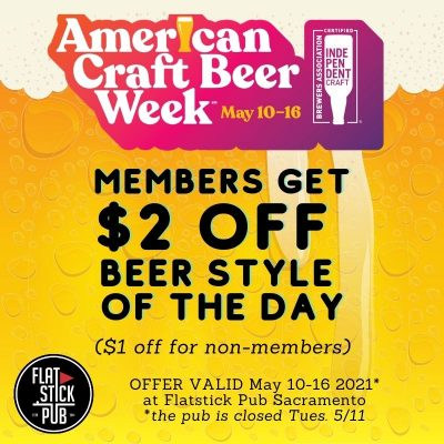American Craft Beer Week at Flatstick Pub