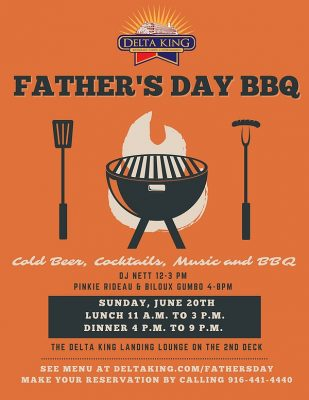 The Delta King's Father's Day Bash