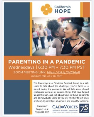 Parenting in a Pandemic Support Group