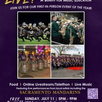 LIVE! From the Mandarins Music Center: A Benefit for Music Education