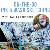 On-The-Go Ink and Wash Sketching Workshop with David Lobenberg
