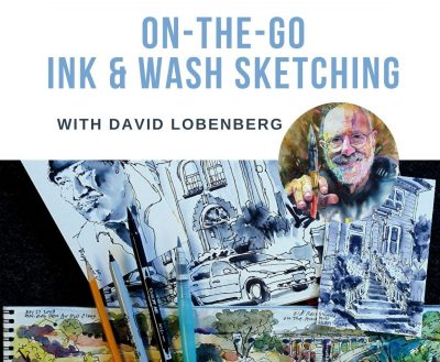 On-The-Go Ink and Wash Sketching Workshop with Dav...