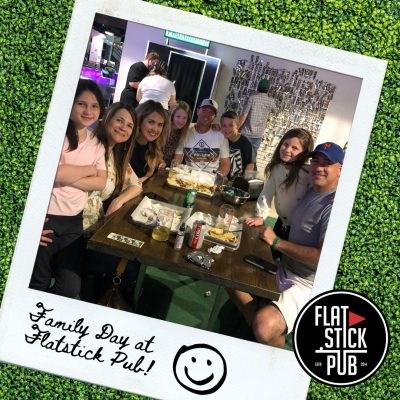 Family Day at Flatstick Pub