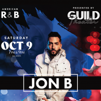 Summer Concert Series Featuring Jon B (Sold Out)