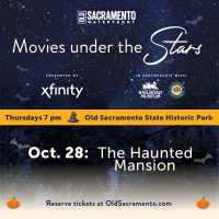 Movies Under the Stars: The Haunted Mansion (Sold Out)