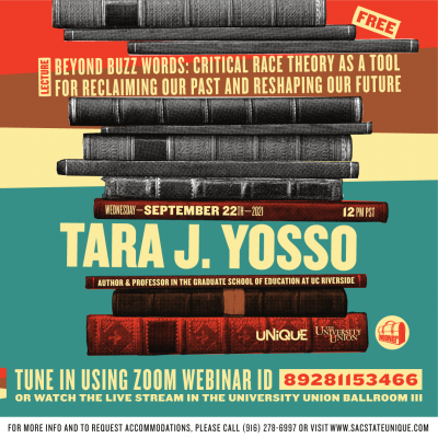 Critical Race Theory: Lecture by Tara J. Yosso