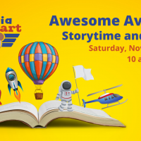 Awesome Aviators Storytime and Crafts